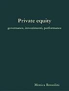 Private Equity - governance, investimenti,…