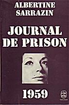 Journal de prison. 1959. by Sarrazin…