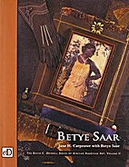 Betye Saar by Jane H. Carpenter