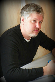 Author photo. Michael Buckley, Author. 2010 Baltimore Book Festival. ©2009