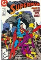 Superman, Vol. 2 # 8 by John Byrne