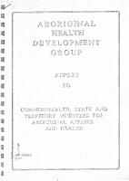 Aboriginal Health Development Group- Report…