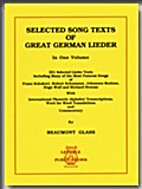 Selected song texts of great German lieder :…