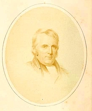 Author photo. Joseph Sturge. Frontispiece from Memoirs of Joseph Sturge (1864) by Henry Richard.