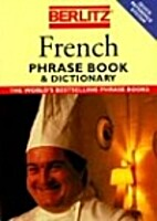 Berlitz French Phrase Book by Berlitz