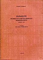 Elementi di Diritto Costituzionale…