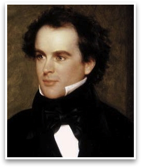 allegories in nathaniel hawthornes young goodman brown Young goodman brown, written by nathaniel hawthorne, is an allegory meant to teach a lesson the story, set in the puritan town of salem, follows goodman brown as he leaves his new wife, faith, to travel in the woods at night.