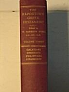 The Expositor's Greek Testament, Volume III…