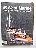 West Marine 1998 Master Catalog by West…
