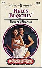 Desert Mistress by Helen Bianchin
