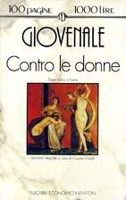 Contro le donne by Juvenal