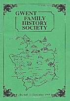 Gwent Family History Society, Journal 55