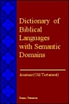 Dictionary of Biblical Languages with…