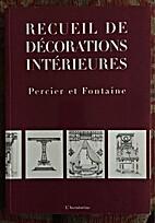 Recueil De Decorations Interieures
