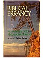 Biblical errancy: An analysis of its…