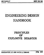 Principles of Explosive Behavior by US Army…