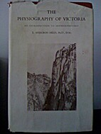 The physiography of Victoria : an…
