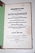 Dissertatio inauguralis medica de morbis…