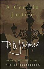 A Certain Justice by P.D. James