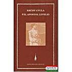 Pál apostol levelei regény by Gyula Krúdy