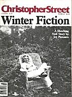 Christopher Street (November 1987) Winter…