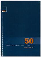 Kriminológiai Tanulmányok 50. Jubileumi…