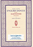 Four little English dances : in the Georgian…