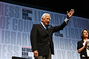 "Author photo. David McCullough greets the Main Stage crowd at the National Book Festival, August 31, 2019. Photo by Shawn Miller/Library of Congress. By Library of Congress Life - 20190831SM1201.jpg, CC0, <a href=""https://commons.wikimedia.org/w/index.php?curid=82899313"" rel=""nofollow"" target=""_top"">https://commons.wikimedia.org/w/index.php?curid=82899313</a>"