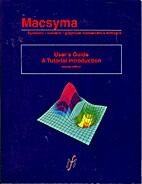 MacSyma User's Guide: a Tutorial…