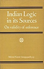 Indian logic in its sources on validity of…