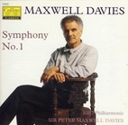 Symphony no. 1 [CD] by Peter Maxwell Davies