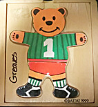 Puzzle - Dress Up Bear Boy (with feeling…