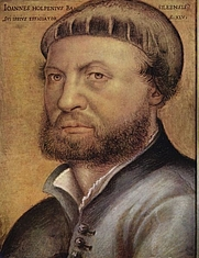 Author photo. Hans Holbein the Younger<br>Self-portrait, 1541, <br>Galleria degli Uffizi, Florence, Italy<br> (Yorck Project)