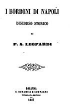 ˆI ‰Borboni di Napoli: discorso storico by…