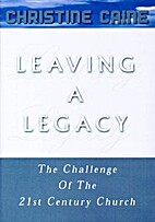 Leaving A Legacy (CD) by Christine Caine