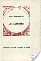 Los elementos: poema by Arturo González…