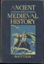 Ancient and Medieval History by Francis S.…