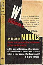 An Essay on Morals by Philip Wylie