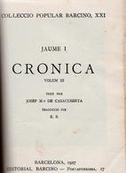 Cronica: volum III by Jaume I