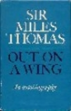 Out on a wing : an autobiography by Sir…