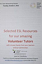 Selected ESL Resources for our amazing…