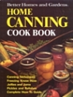 Better Homes and Gardens Home Canning…