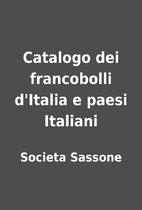Catalogo dei francobolli d'Italia e paesi…