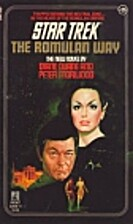 Star Trek: The Romulan Way by Diane Duane