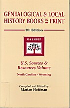 Genealogical & Local History Books in Print…