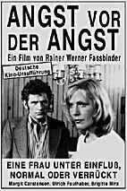 Angst vor der Angst by Rainer Werner…