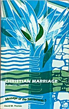 Christian marriage : a journey together by…