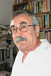 Author photo. Simon Louvish