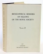 Biographical Memoirs of the Fellows of the…