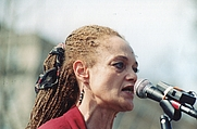 Author photo. Wikipedia: Free U.S. Political Prisoners Spring Break JERICHO MARCH RALLY across from the White House at Lafayette Park, NW, Washington DC on Friday, 27 March 1998 by Elvert Barnes Protest Photography